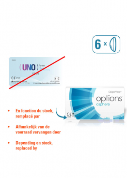 UNO 55 UV + Positive sphere powers