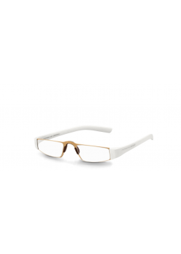 Lunettes P'8801 - Or / Blanc
