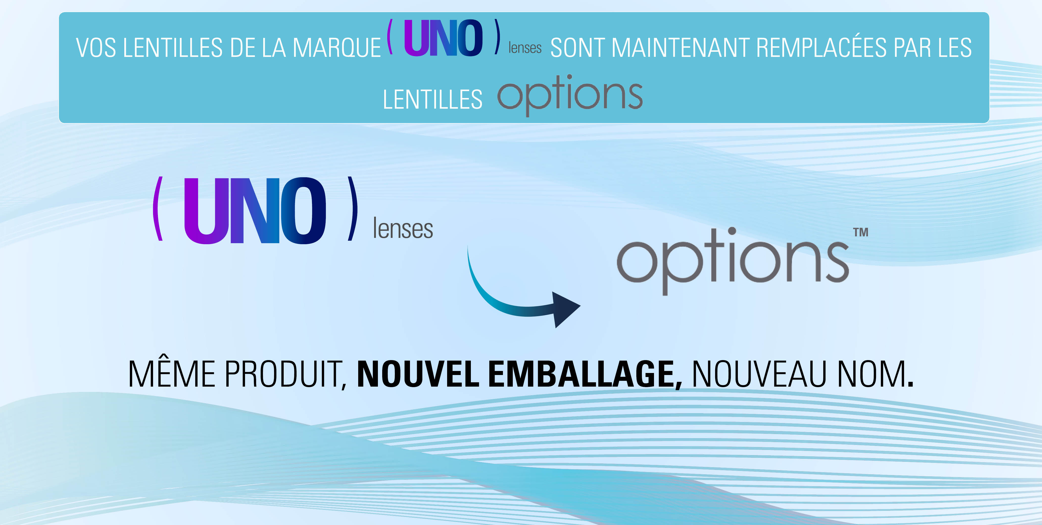 Changement Uno Options